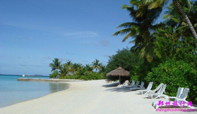 马尔代夫白金岛6天4晚自由行