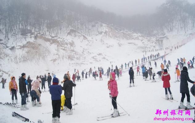 木札岭滑雪+福泉温泉二日游