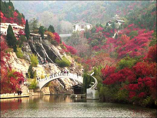 景点介绍 跑马岭景区简介    河南省跑马岭地质公园位于太行 山东南