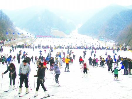 万博app手机版到老君山、伏牛山滑雪乐园两日游