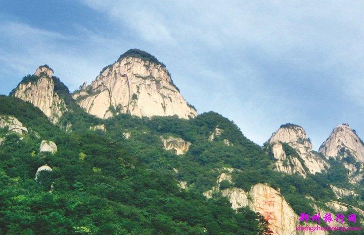 五朵山位于河南省镇平县,五朵山风景区,是久负盛名的中原道教圣地.
