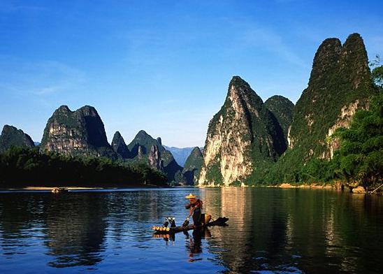 桂林、阳朔、大漓江、古东、冠岩、银子岩、世外桃源