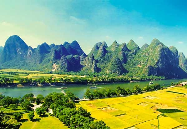 桂林、漓江、阳朔、冠岩双卧5日