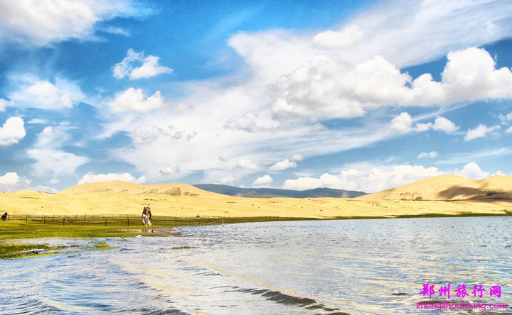 二郎剑景区——高原圣湖坛