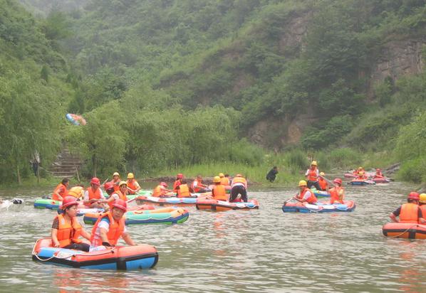 豫西大峡谷漂流两日游