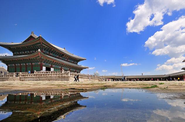 韩国包机首尔济州五日游
