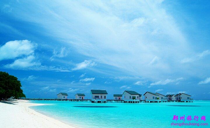 马尔代夫海边晚餐图片