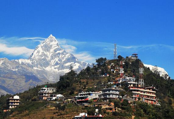 尼泊尔8晚9天感受之旅(蓝毗尼佛祖诞生地)