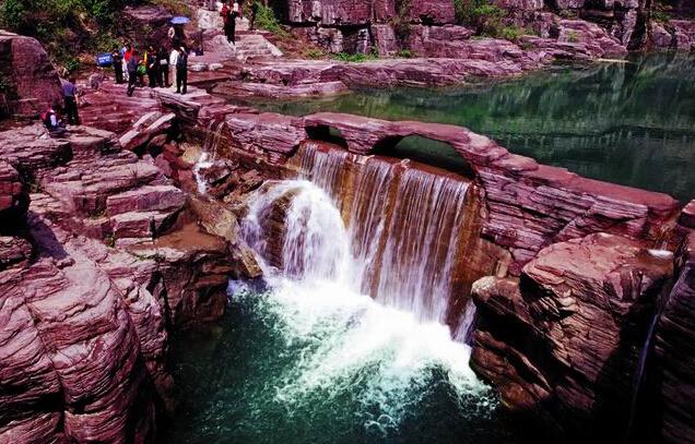 云台山一日游(云台山红石峡、泉瀑峡、潭瀑峡、猕猴