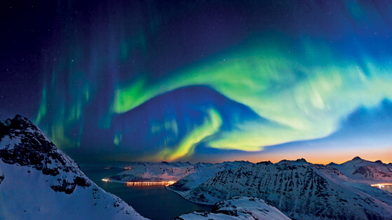 冰雪童话北欧极光九日游
