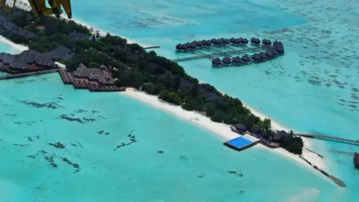 """马尔代夫 双鱼岛--最佳海滨奖""""!含全餐仅9800"""