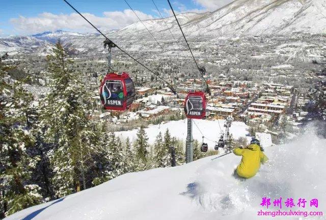 阿斯本/雪堆山滑雪村(Aspen/Snowmass)位于美丽的科罗拉多州,是北美最具代表性的滑雪圣地这里拥有雪堆山(Snowmass)、阿斯本山(Aspen Mountain)、阿斯本高地(Aspen Highlands)和奶油山(Buttermilk)四大山脉,雪道总长逾513公里,雪道地形多样,可以满足不同水平的滑雪者,还提供各类滑雪课程和精彩活动。