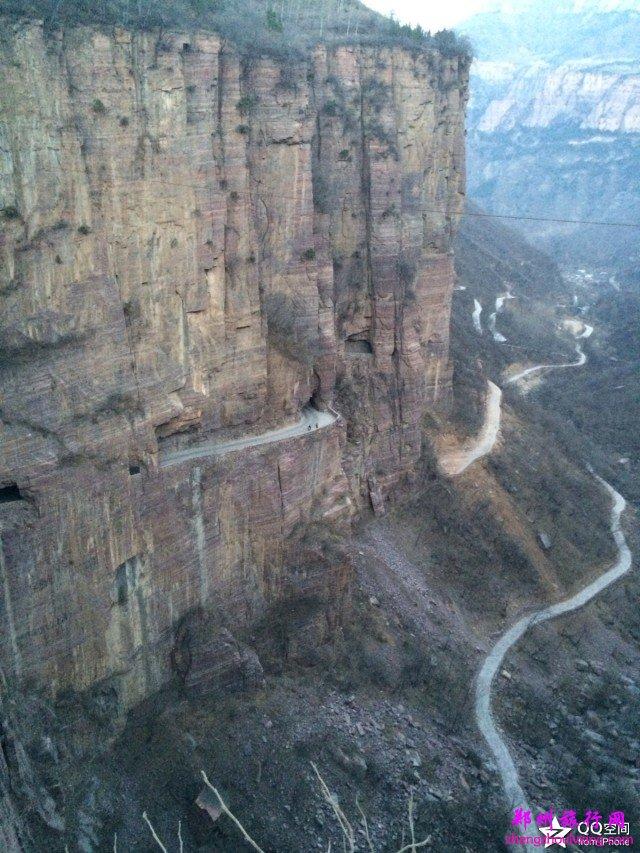 万仙山壁挂公路