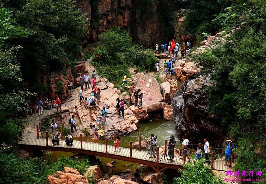 万博app手机版新密伏羲大峡谷景区