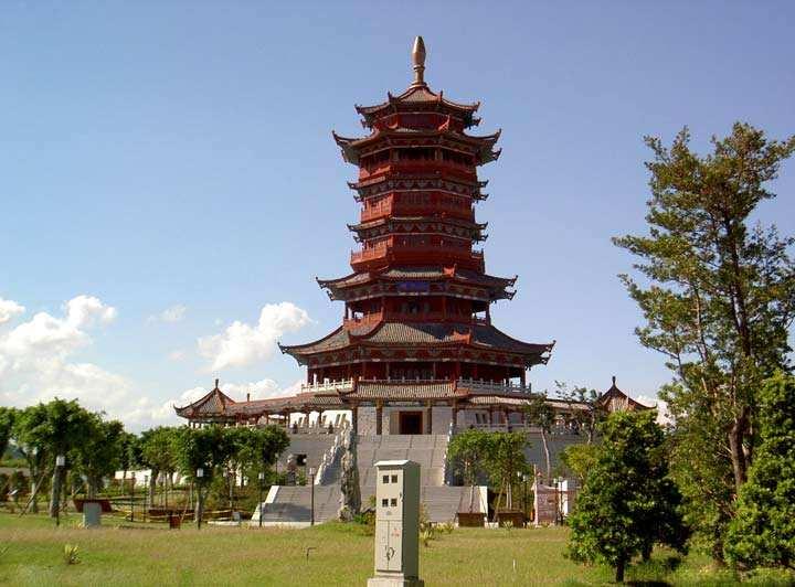 郑州双鹤湖双塔