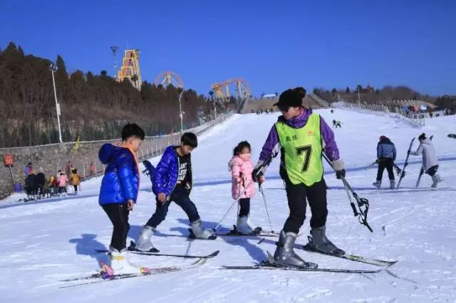 五龙山响水河滑雪场