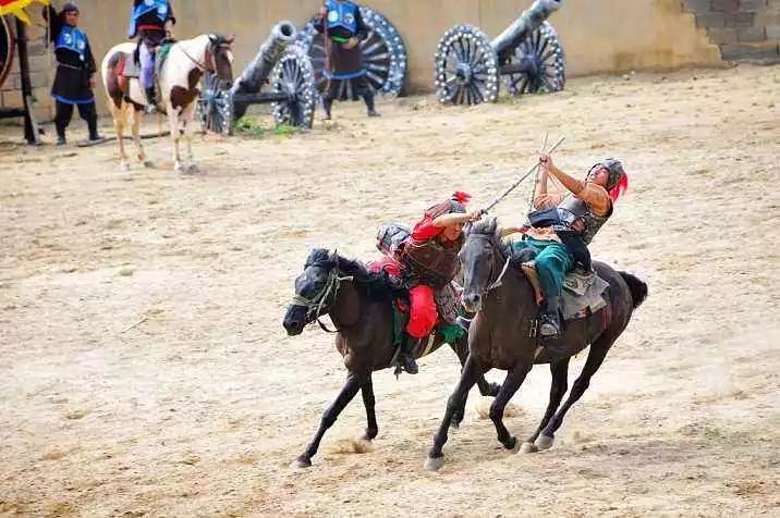 穆桂英大战洪洲城