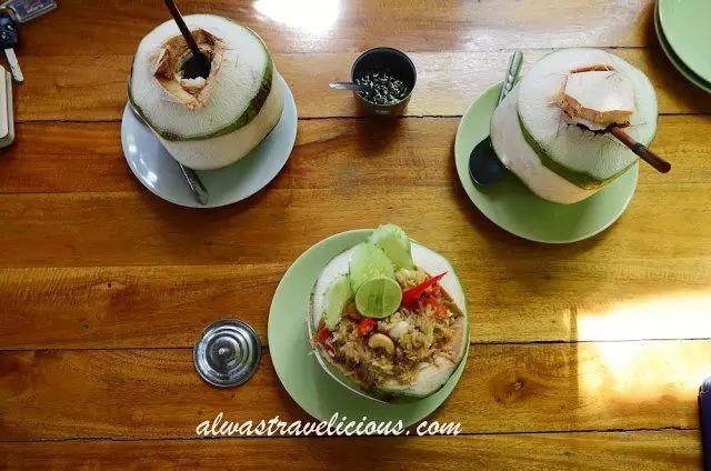 苏梅岛椰子大餐