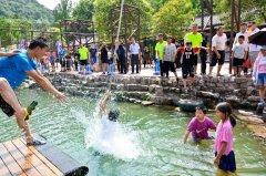 龙潭大峡谷天然空调已开启,森林吸氧、游山玩水,清凉一夏!